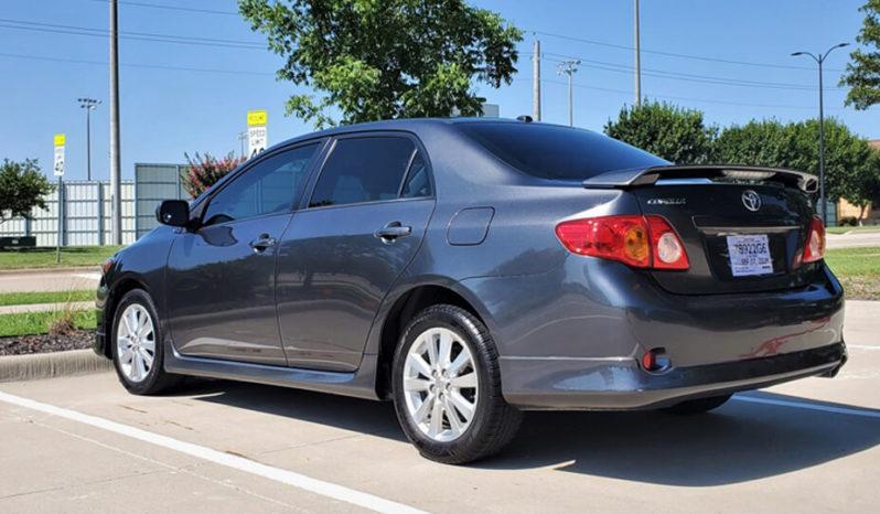 2009 Toyota Corolla SPORT full