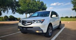 2008 Acura MDX SH-AWD SPORT AND ENTERTAINMENT PACKAGE