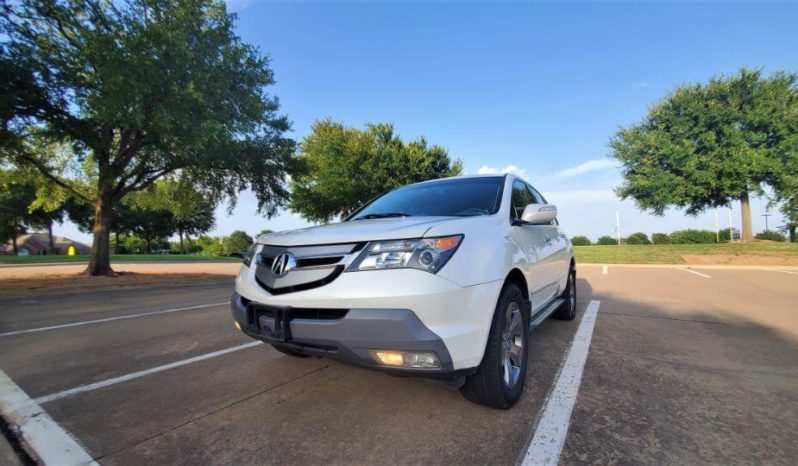2008 Acura MDX SH-AWD SPORT AND ENTERTAINMENT PACKAGE full