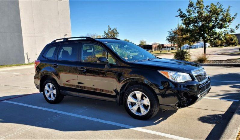2015 Subaru Forester 2.5i Premium Sport Utility Vehicle, Clean Title full